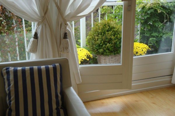 View onto the Suite balcony in autum